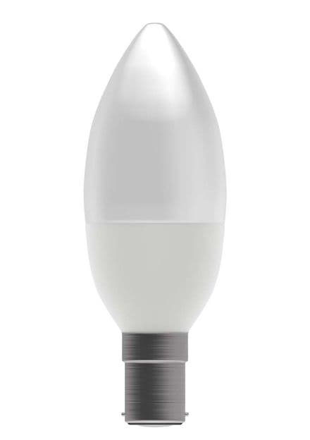 BELL 05854 7W LED Dimmable Candle Opal SBC 2700K